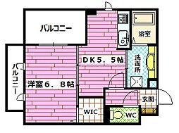 (仮)D-room下祇園駅前[304号室]の間取り