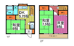 [テラスハウス] 埼玉県川口市芝下3丁目 の賃貸【/】の間取り