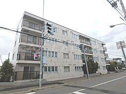 北海道札幌市東区北二十五条東22丁目の賃貸マンションの外観