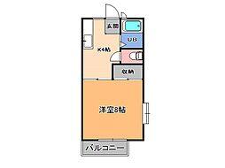 ファンタジーハイツ[2階]の間取り