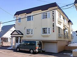 北海道札幌市東区北四十四条東2丁目の賃貸アパートの外観