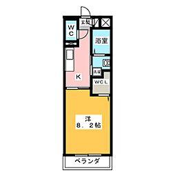 仮称)津市半田T&Nマンション[3階]の間取り