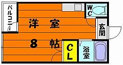 ENハイツ香椎[2階]の間取り