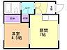 間取り,1DK,面積28.35m2,賃料3.5万円,バス くしろバス鳥取分岐下車 徒歩4分,,北海道釧路市鳥取北8丁目5番17号