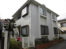 東京都調布市若葉町2の賃貸アパートの外観