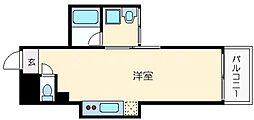 ロイヤルメゾンMINAMISENBA[5階]の間取り