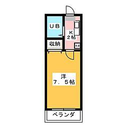アーバニーハイム柴崎[3階]の間取り