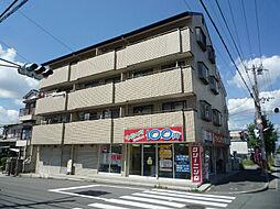 男山オークマンション[3階]の外観