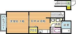 アドヴァンス青山[2階]の間取り