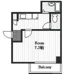 サンハイツ竹林[3階]の間取り