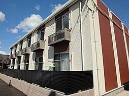 兵庫県加古川市西神吉町岸の賃貸アパートの外観
