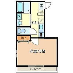 フローラベルツリー[2階]の間取り