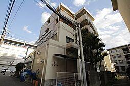 兵庫県西宮市津門宝津町の賃貸マンションの外観