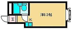 大阪府大阪市淀川区塚本5丁目の賃貸マンションの間取り