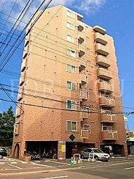 北海道札幌市中央区南五条西22丁目の賃貸マンションの外観