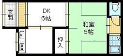 [テラスハウス] 大阪府大東市諸福6丁目 の賃貸【大阪府 / 大東市】の外観