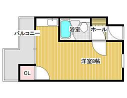 カーサ・イデアーレ1[1階]の間取り