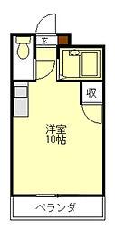 ハイツエスポワール[1階]の間取り
