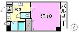 マリベールKANON[202 号室号室]の間取り