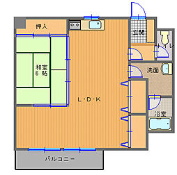 宝町駅 5.5万円