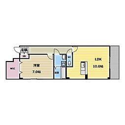 セイバリーレイン[2階]の間取り