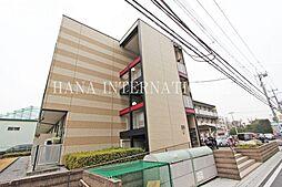 埼玉県草加市小山2丁目の賃貸アパートの外観