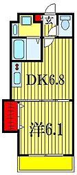 コスタ デルソル[3階]の間取り