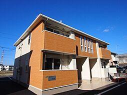 福岡県北九州市八幡西区茶屋の原2丁目の賃貸アパートの外観