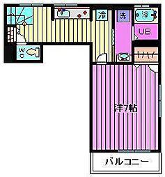 K・Kテラス[2階]の間取り