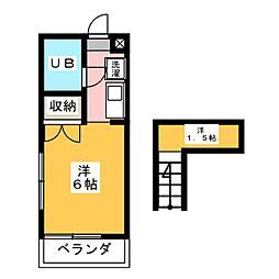 ノアーズハウス III[2階]の間取り