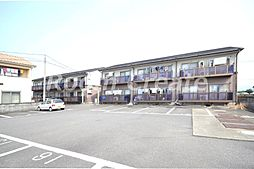 徳島県名西郡石井町高原字桑島の賃貸アパートの外観