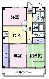 MANSION LOTUS[2階]の間取り