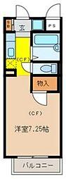 パルコートN[2階]の間取り