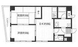 ライオンズマンション横須賀中央第5[804号室]の間取り