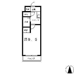 プラティアSETA[3階]の間取り