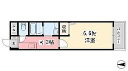 第11ドリームマンション[602号室]の間取り