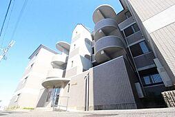 滋賀県大津市大萱4丁目の賃貸マンションの外観