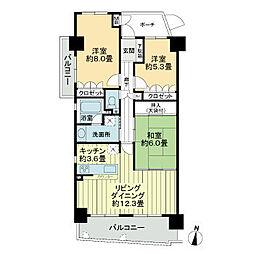 花畑駅 9.5万円