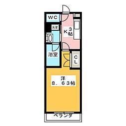 0375.メイプルコート一社[1階]の間取り