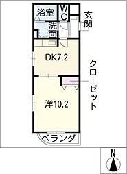 JUWELIER[1階]の間取り