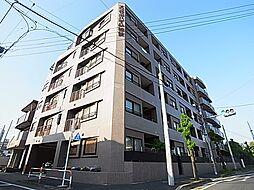 東京都足立区加賀2丁目の賃貸マンションの外観