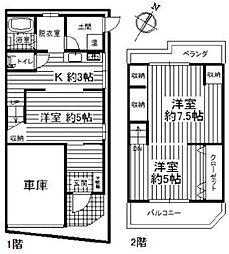 堺市西区浜寺石津町西4丁テラスハウス