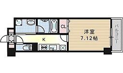 Avanyi Parco西九条[6階]の間取り