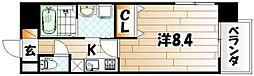 ブルースクエア響IV[2階]の間取り