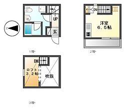 HAWK名古屋[1階]の間取り