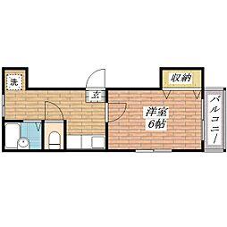 アレーズ[2階]の間取り