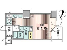 UURコート札幌南3条プレミアタワー[15階]の間取り