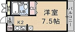 御陵駅 2.6万円