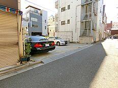 現況駐車場。