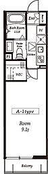 エルスタンザ北赤羽[1階]の間取り